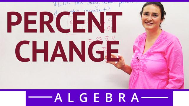 Percent Change - Concept