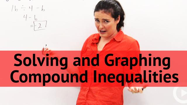 Solving and Graphing Compound Inequalities - Concept