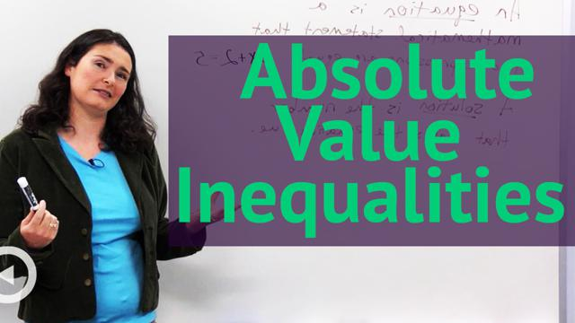 Absolute Value Inequalities - Concept