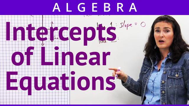 Intercepts of Linear Equations - Concept