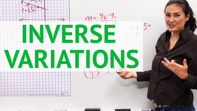 Inverse Variation - Concept