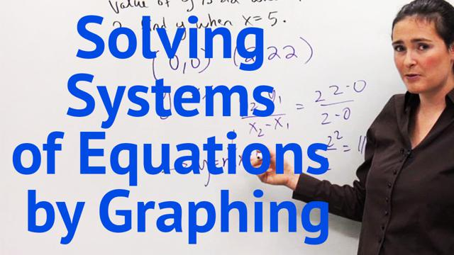 Solving Systems of Equations by Graphing - Concept