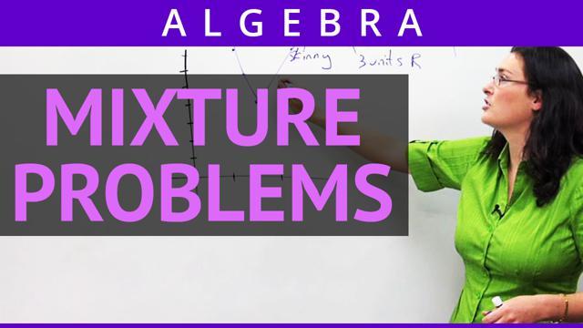 Mixture Problems - Concept