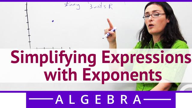 Simplifying Expressions with Exponents - Concept