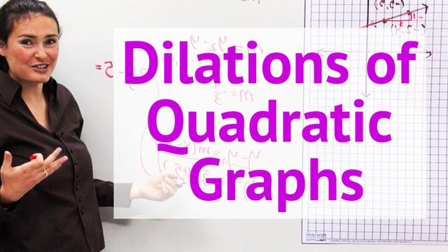 Dilations of Quadratic Graphs - Concept