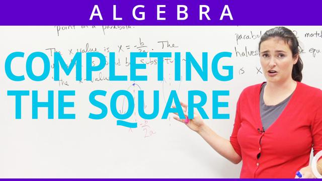 Completing the Square - Concept