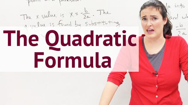 The Quadratic Formula - Concept