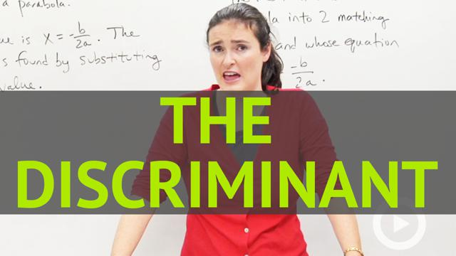 The Discriminant - Concept