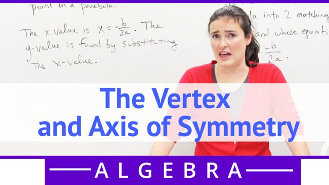 The Vertex and Axis of Symmetry - Concept