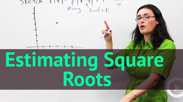Estimating Square Roots - Concept