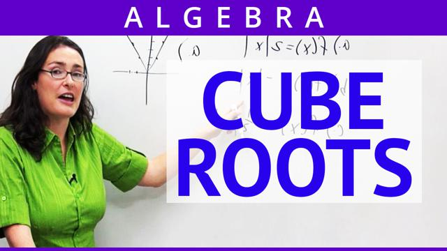 Cube Roots - Concept