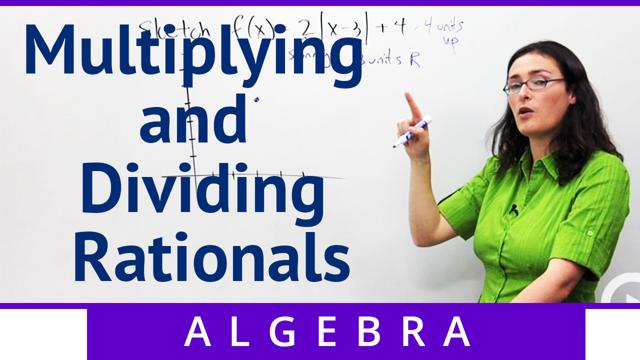 Multiplying and Dividing Rationals - Concept