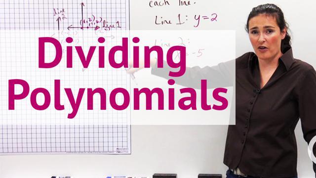 Dividing Polynomials - Concept