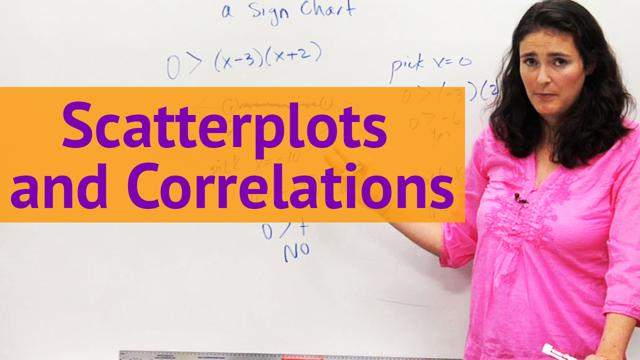 Scatterplots and Correlations - Concept