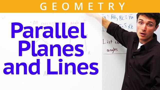 Parallel Planes and Lines - Concept