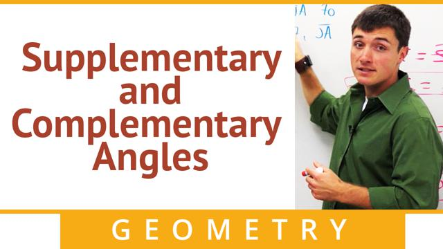Supplementary and Complementary Angles - Concept