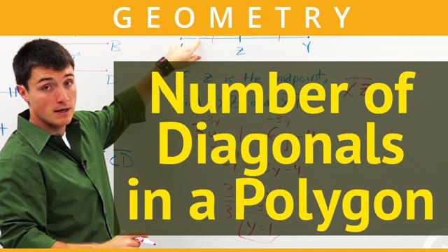 Number of Diagonals in a Polygon - Concept