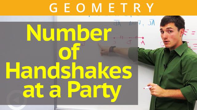 Number of Handshakes at a Party - Concept