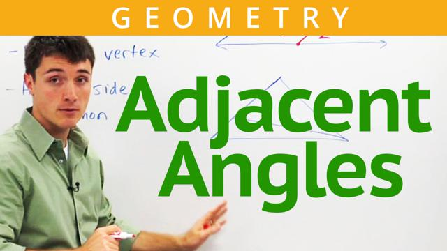 Adjacent Angles - Concept