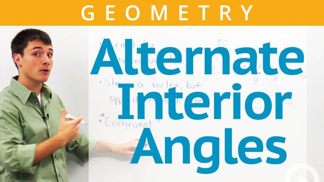 Alternate Interior Angles - Concept