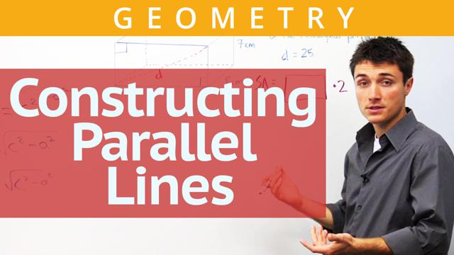Constructing Parallel Lines - Concept