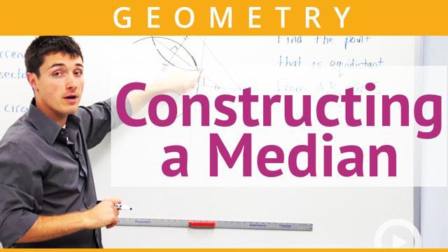 Constructing a Median - Concept