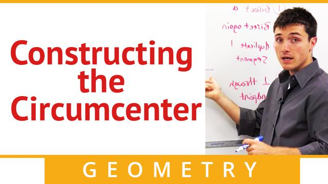 Constructing the Circumcenter - Concept