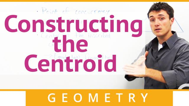 Constructing the Centroid - Concept