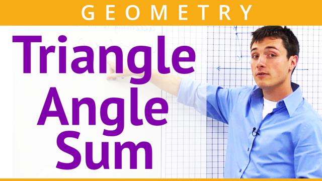 Triangle Angle Sum - Concept