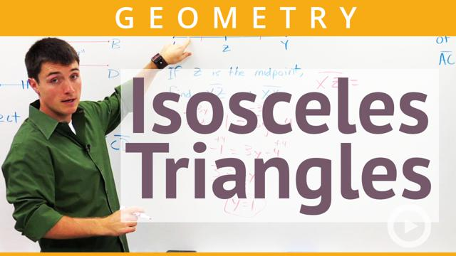 Isosceles Triangles - Concept