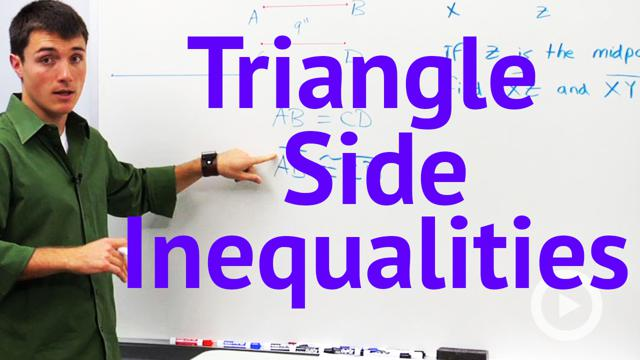 Triangle Side Inequalities - Concept