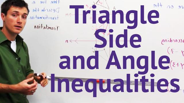 Triangle Side and Angle Inequalities - Concept