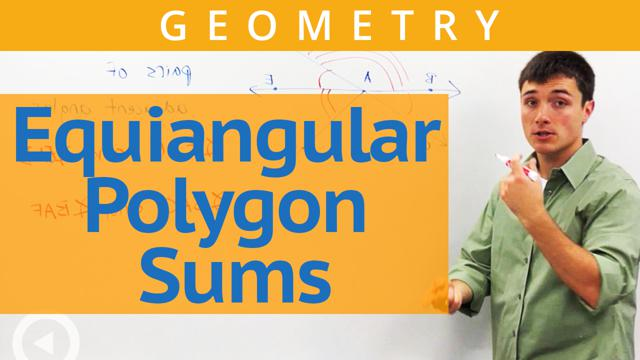 Equiangular Polygon Sums - Concept