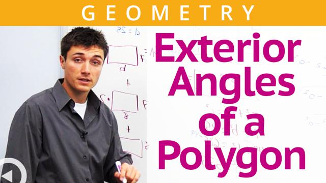 Exterior Angles of a Polygon - Concept