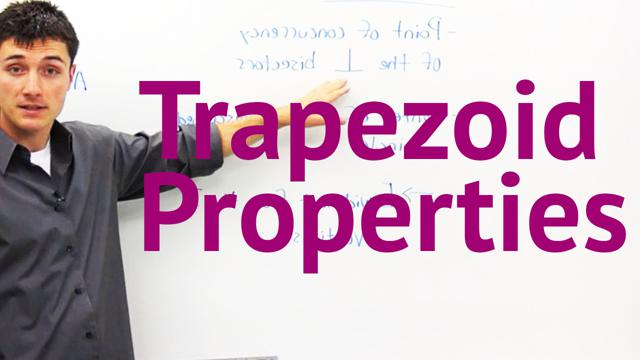 Trapezoid Properties - Concept