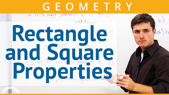 Rectangle and Square Properties - Concept