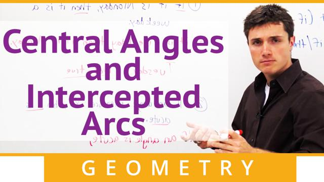 Central Angles and Intercepted Arcs - Concept