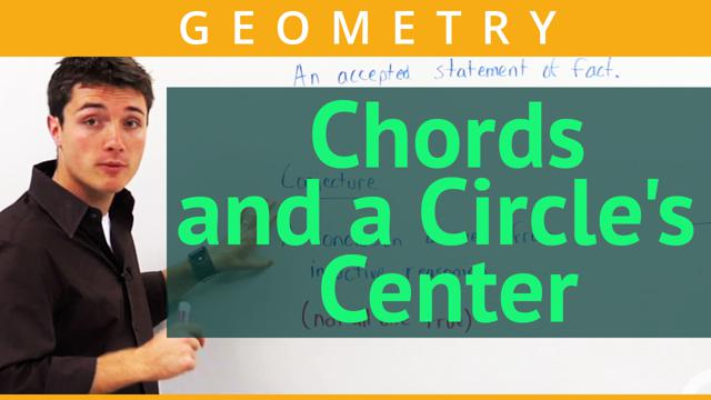 Chords and a Circle's Center - Concept