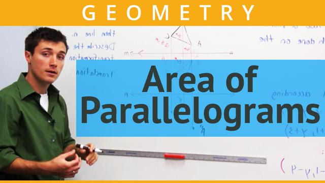 Area of Parallelograms - Concept