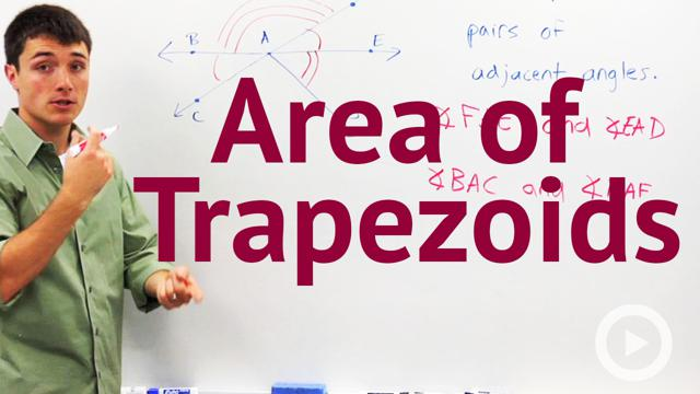 Area of Trapezoids - Concept