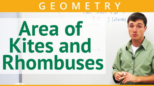 Area of Kites and Rhombuses - Concept