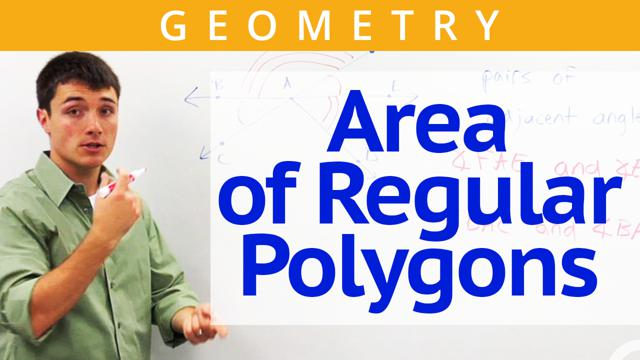 Area of Regular Polygons - Concept
