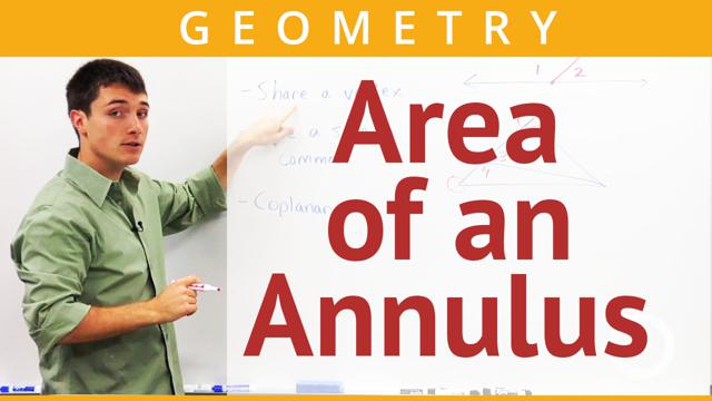 Area of an Annulus - Concept