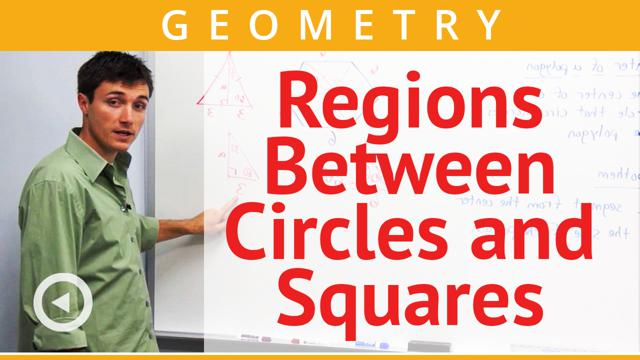 Regions Between Circles and Squares - Concept