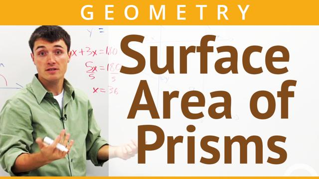 Surface Area of Prisms - Concept