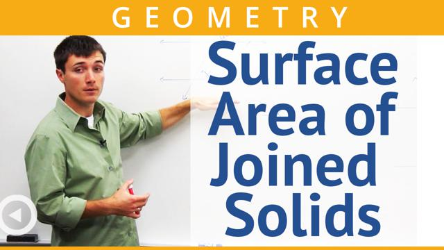 Surface Area of Joined Solids - Concept