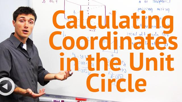 Calculating Coordinates in the Unit Circle - Concept