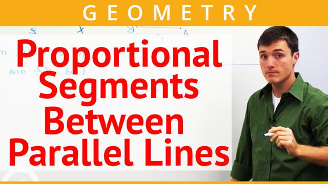 Proportional Segments Between Parallel Lines - Concept