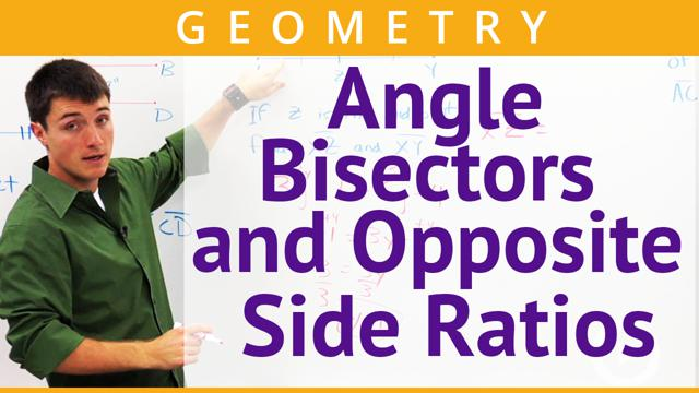 Angle Bisectors and Opposite Side Ratios - Concept