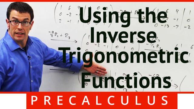 Inverse Trigonometric Functions - Concept